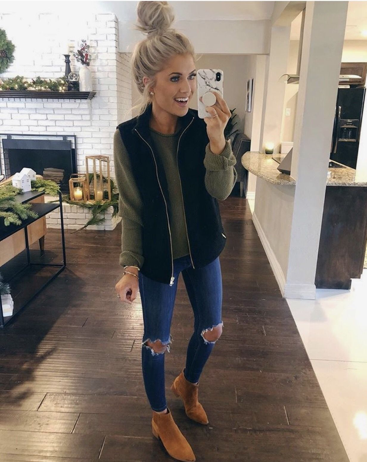 Pin-spired Thrifted Outfits: November - Rachel's Crafted Life