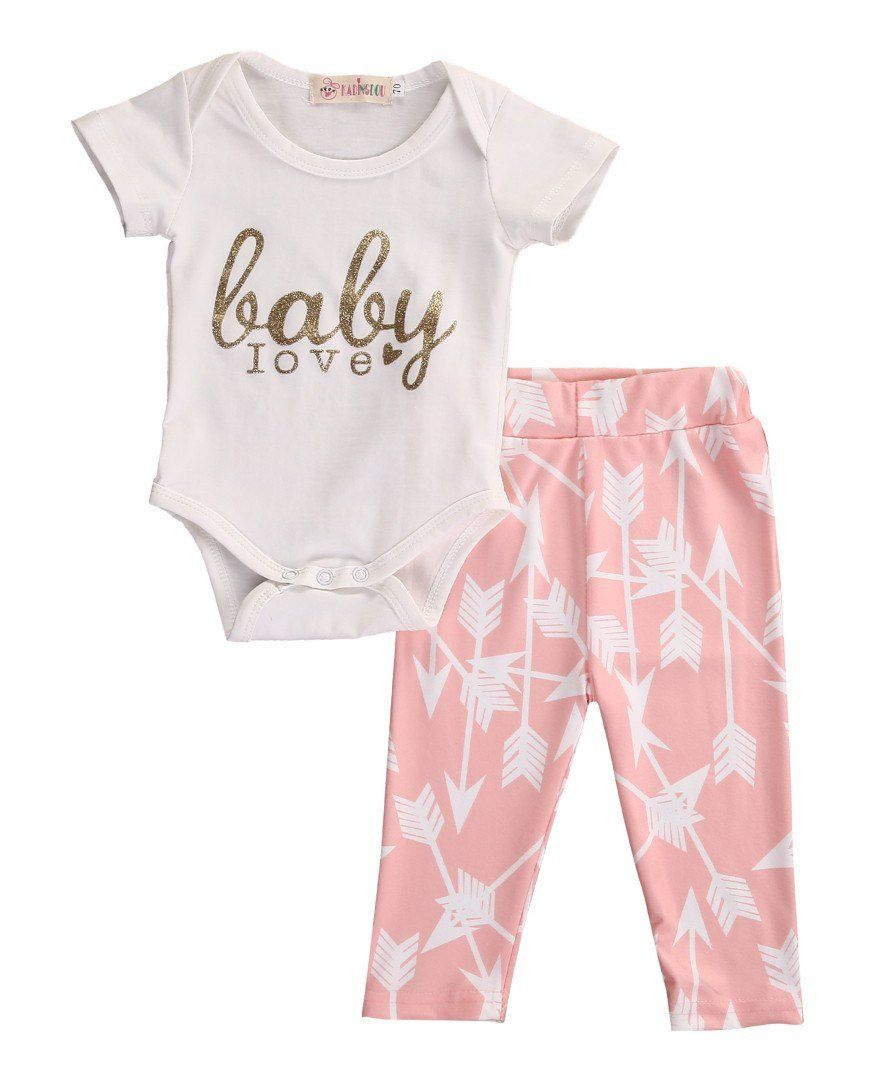 7943dfee6 Outfit - Baby Love. For the girly girl. Arrow print