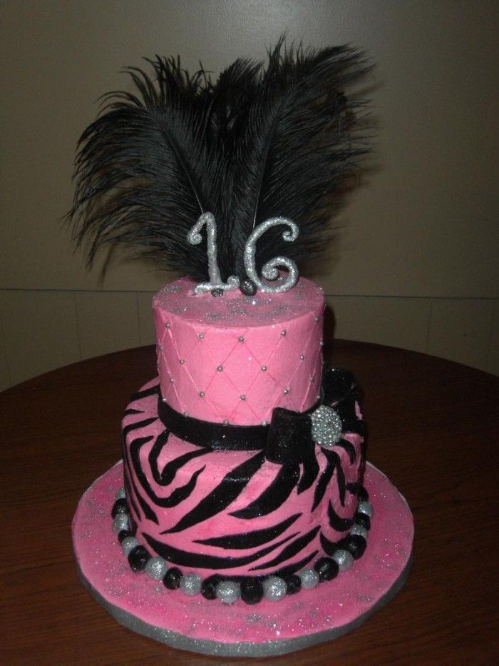 16 Sweet Sixteen Cakes Pictures of Sweet Sixteen Birthday Cakes