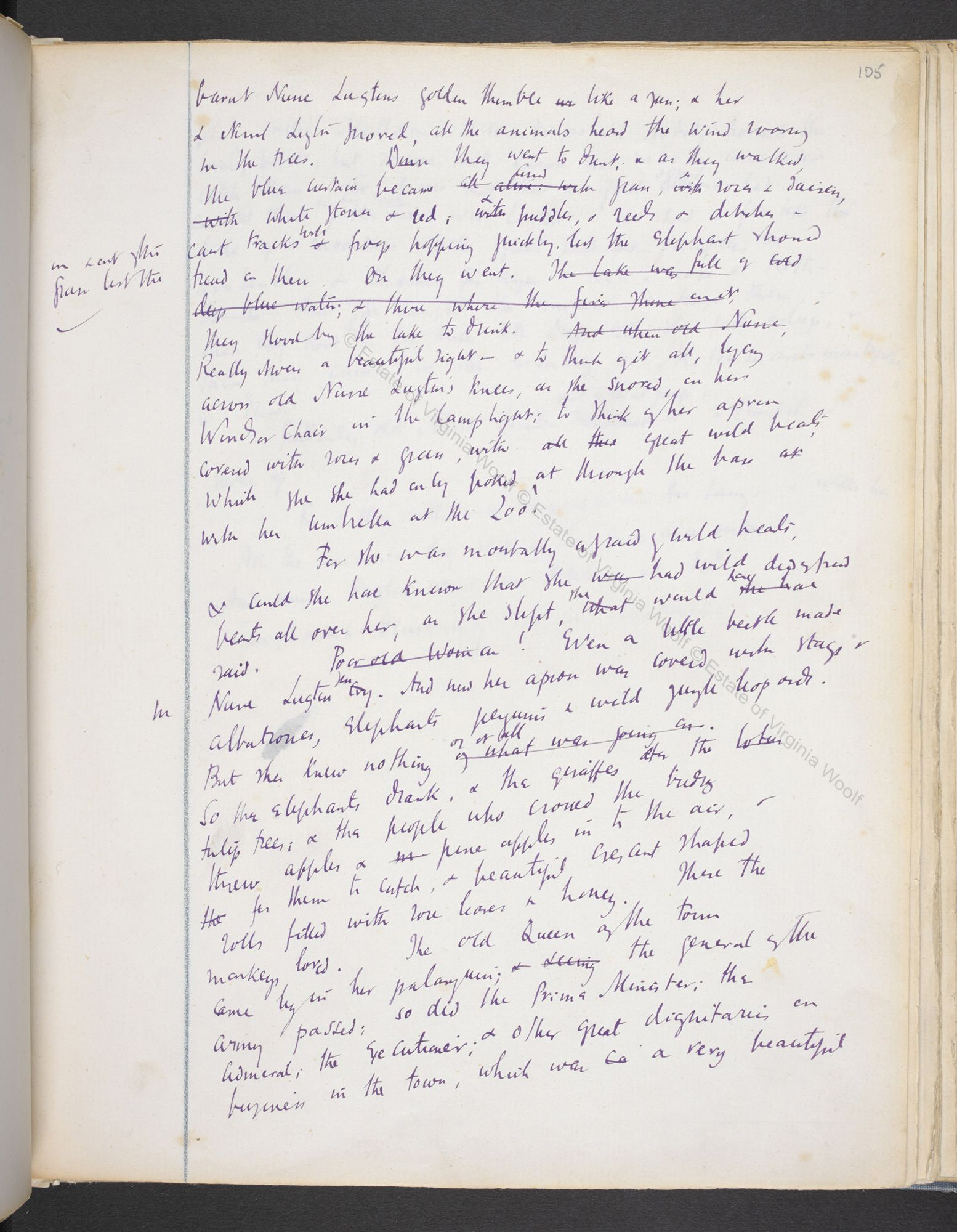 nurse lugton from virginia woolf s original manuscript of mrs nurse lugton from virginia woolf s original manuscript of mrs dalloway 2 of 3