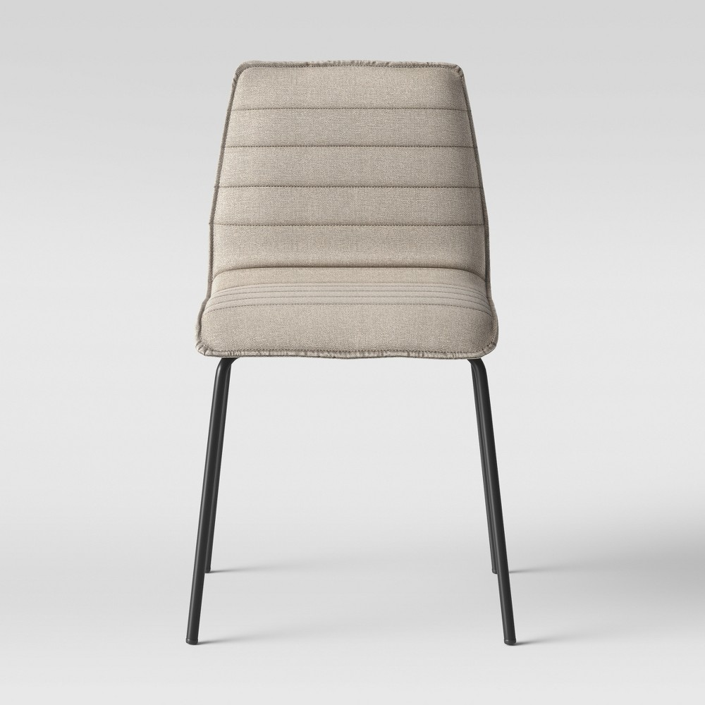 Salk Modern Quilted Dining Chair Linen Project 62 Dining