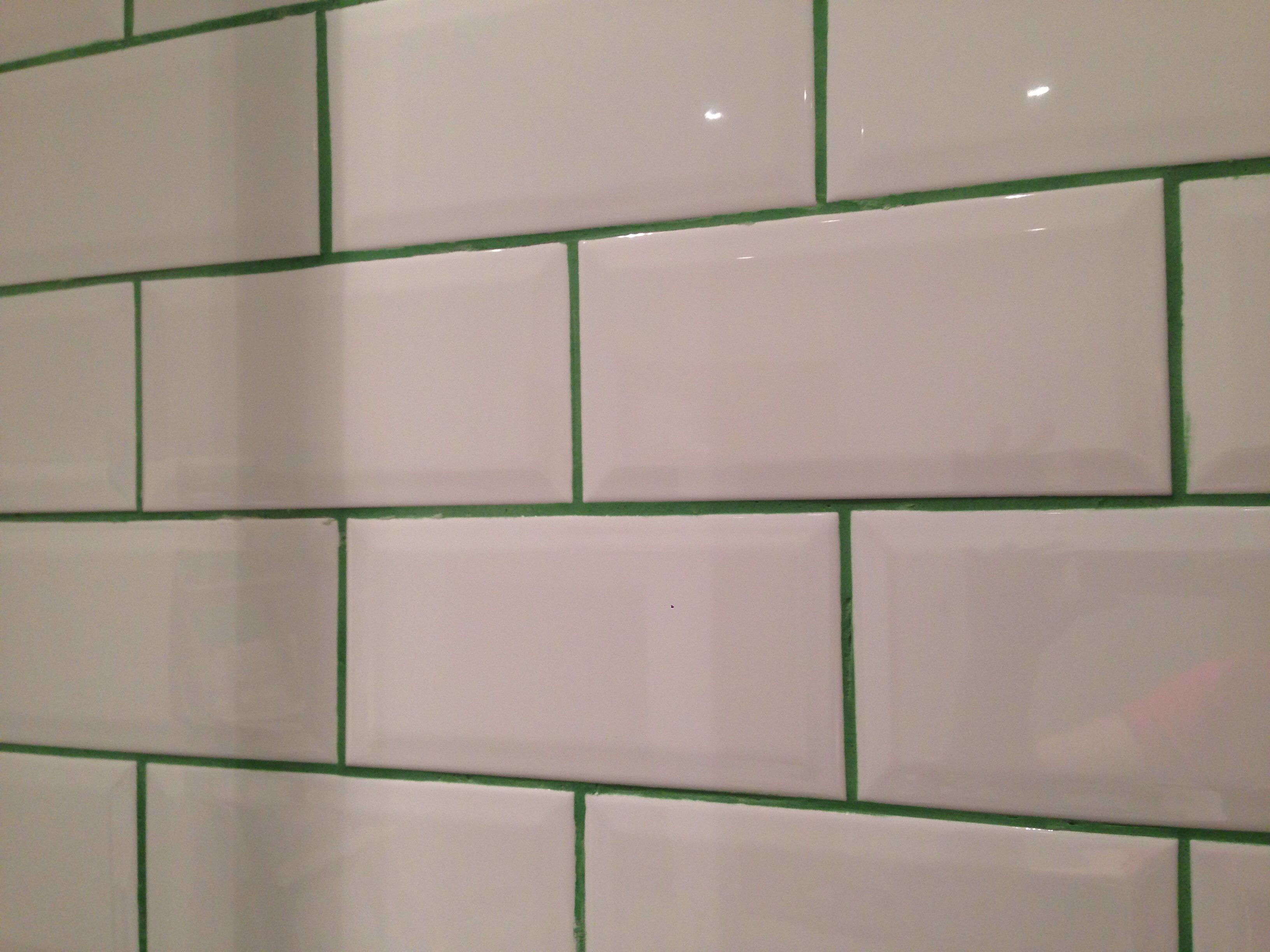 how to keep tile grout white