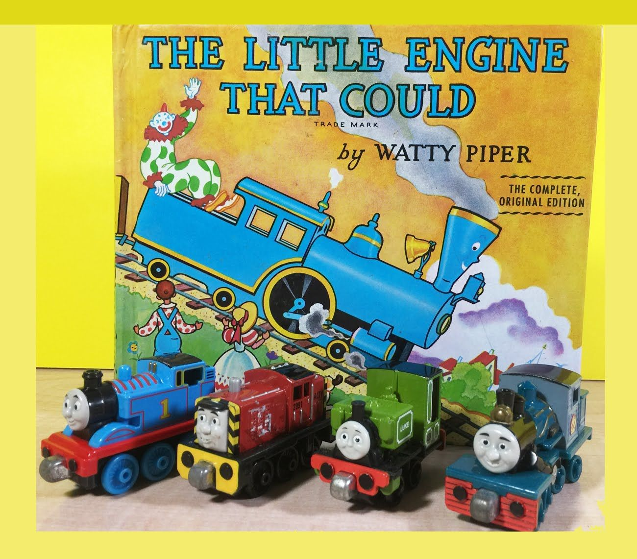 The Little Engine That Could With Steam Train Sounds