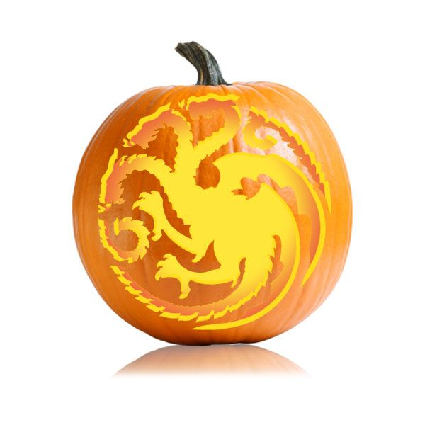 Game Of Thrones Pumpkin Pattern Package Pumpkin Pumpkin Carving