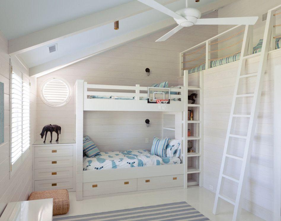 Ceiling Bedroom Built in Loft Kids