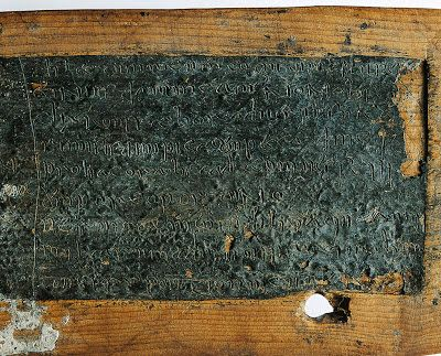 Down in the Bog: Ancient wax tablets