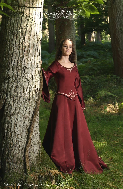 Medieval Amp Fairy Wedding Dresses Celtic Elvish Gothic