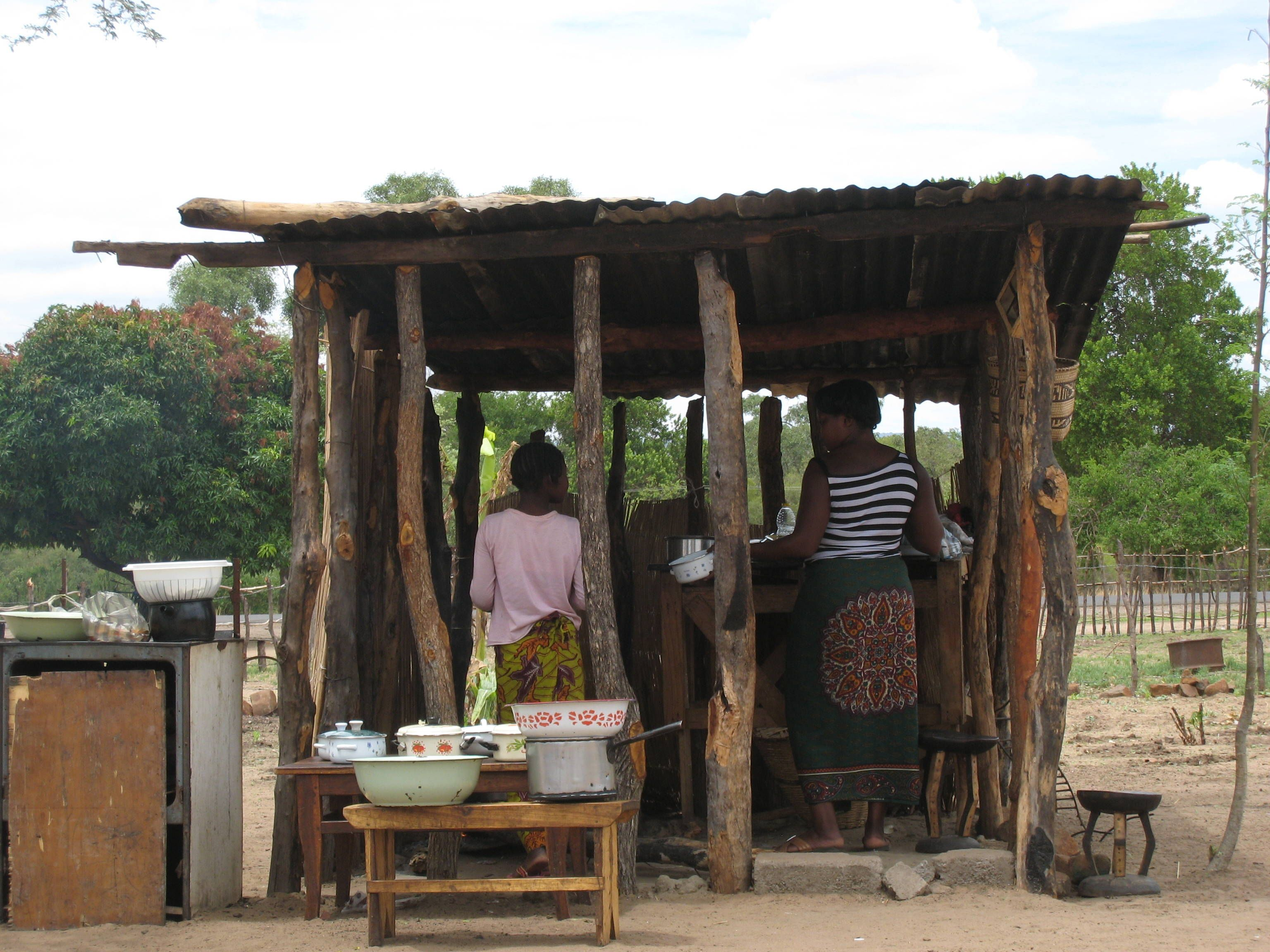 zambia kitchen Outdoor structures, Pergola, Outdoor