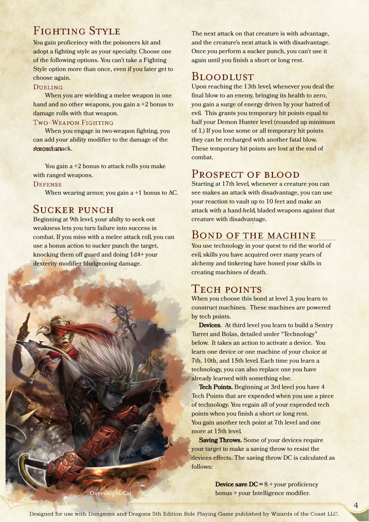 Rpg demon pdf hunters