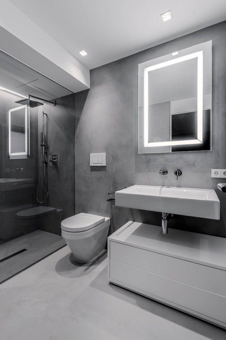 Bad Beleuchtung Planen Tipps Und Ideen Mit Led Leuchten Mit Bildern Moderne Badezimmerspiegel Badezimmer Licht Badezimmer Led