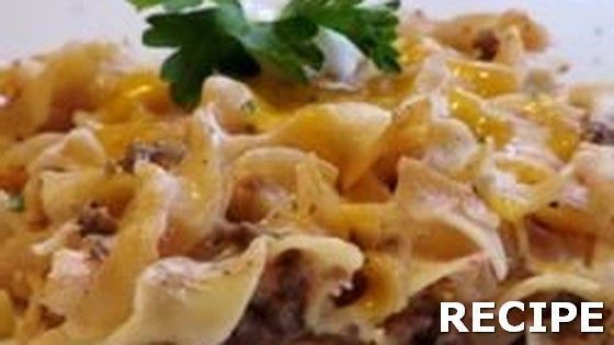 Sour Cream Noodle Bake Recipe Recipe : #Sour #Cream #Noodle #Bake This simple, hearty casserole features ground beef browned in butter and simmered with tomato sauce, garlic salt and pepper. Fold in cottage cheese, sour cream, green onions and egg noodles, then bake with Cheddar cheese sprinkled over the top. #recipe #sourcreamnoodlebake Sour Cream Noodle Bake Recipe Recipe : #Sour #Cream #Noodle #Bake This simple, hearty casserole features ground beef browned in butter and simmered with tomato #sourcreamnoodlebake