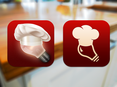 Fraternal Twins - like the right one. could have a timer with a chef hat?