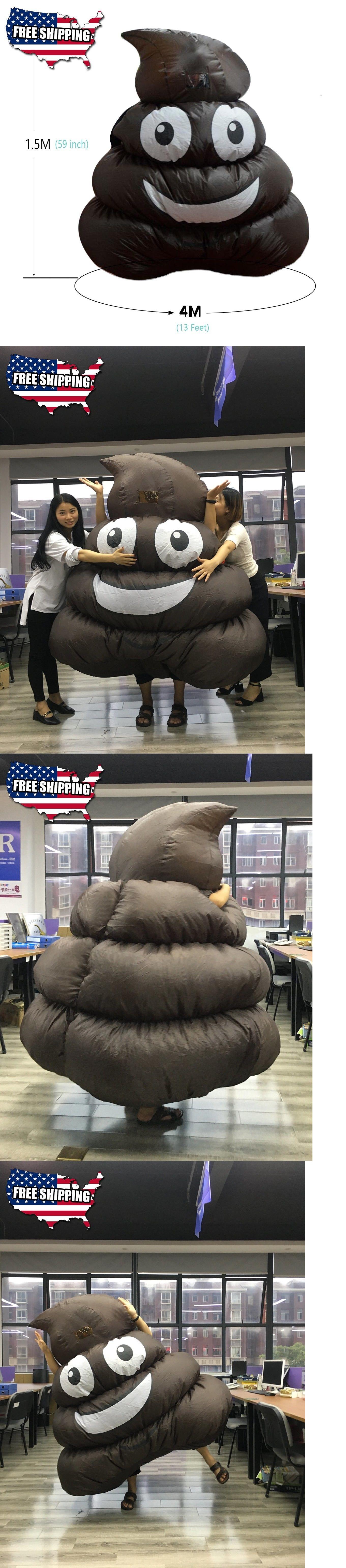 Other Backyard Games 159081: Dreamowl Inflatable Giant Poop Emoji ...