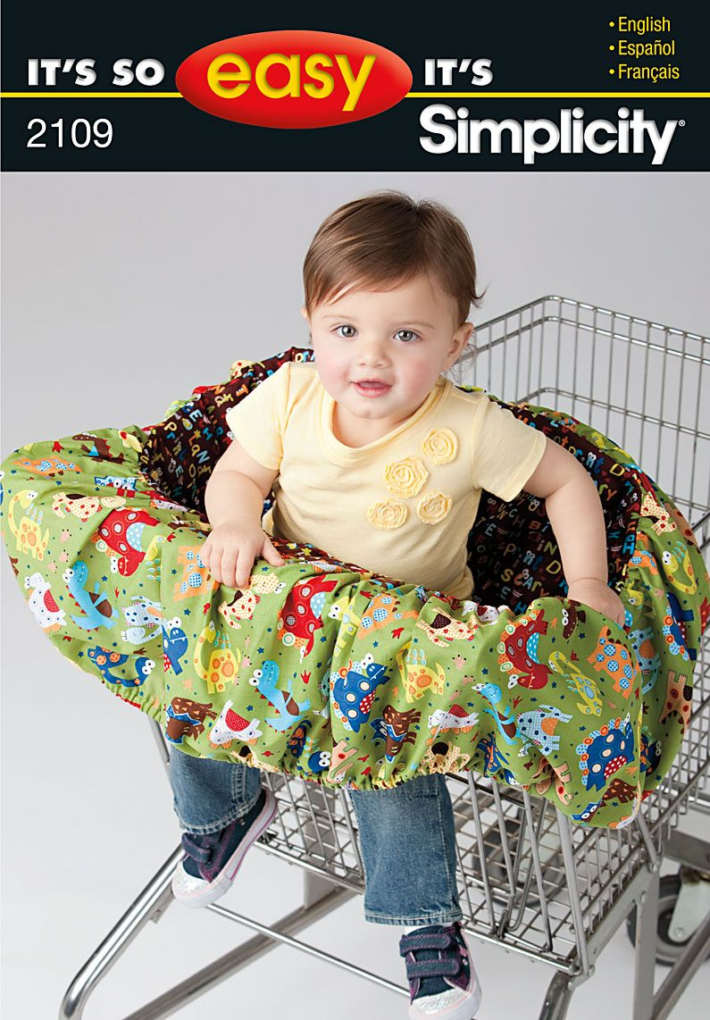 Shopping Cart Cover Pattern : shopping, cover, pattern, Laura, Dozen, These, Babies...easy, Fa…, Crafts, Sewing, Patterns,, Patterns