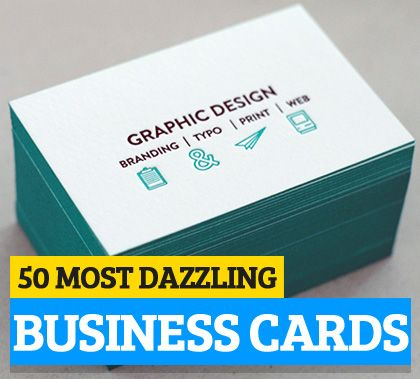Dazzling Examples Of Business Cards Design Business Cards Design
