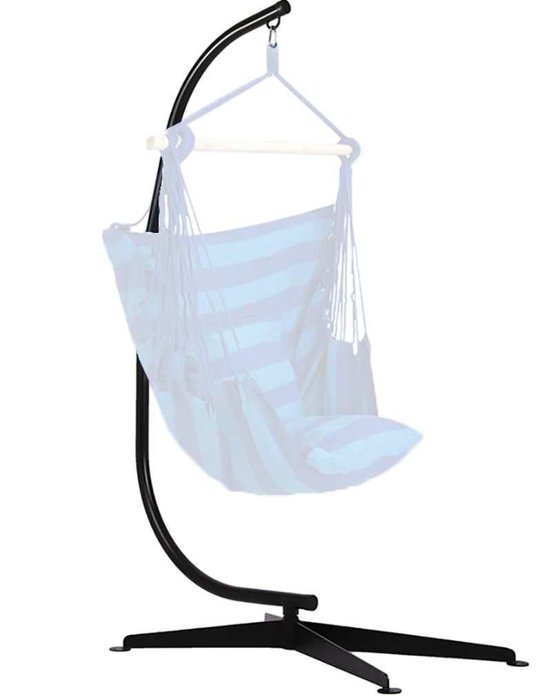Hammock C Stand Solid Steel Construction For Hammock Air Porch Swing Chair Walmart Com Porch Swing Chair Hammock Chair Stand Swinging Chair