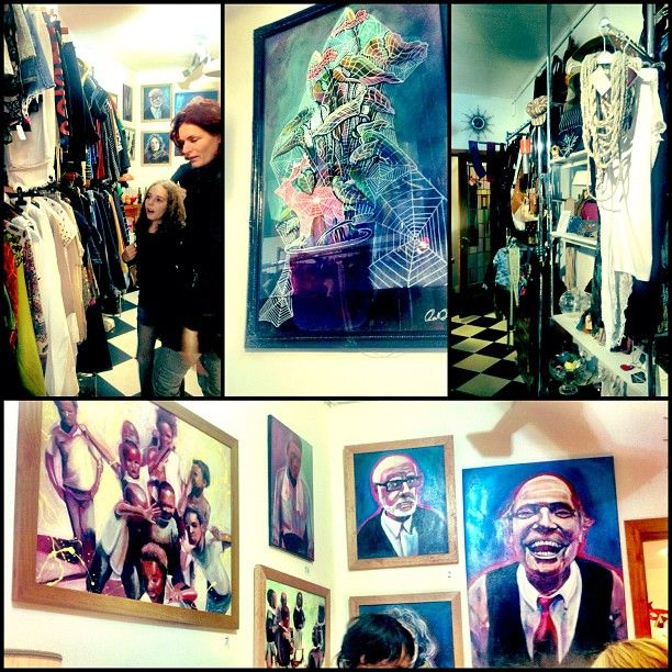 Zity Zoo A Nice Second Hand Retro Shop With Locals Art On The