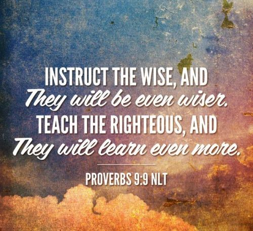 Image result for proverbs 9:9