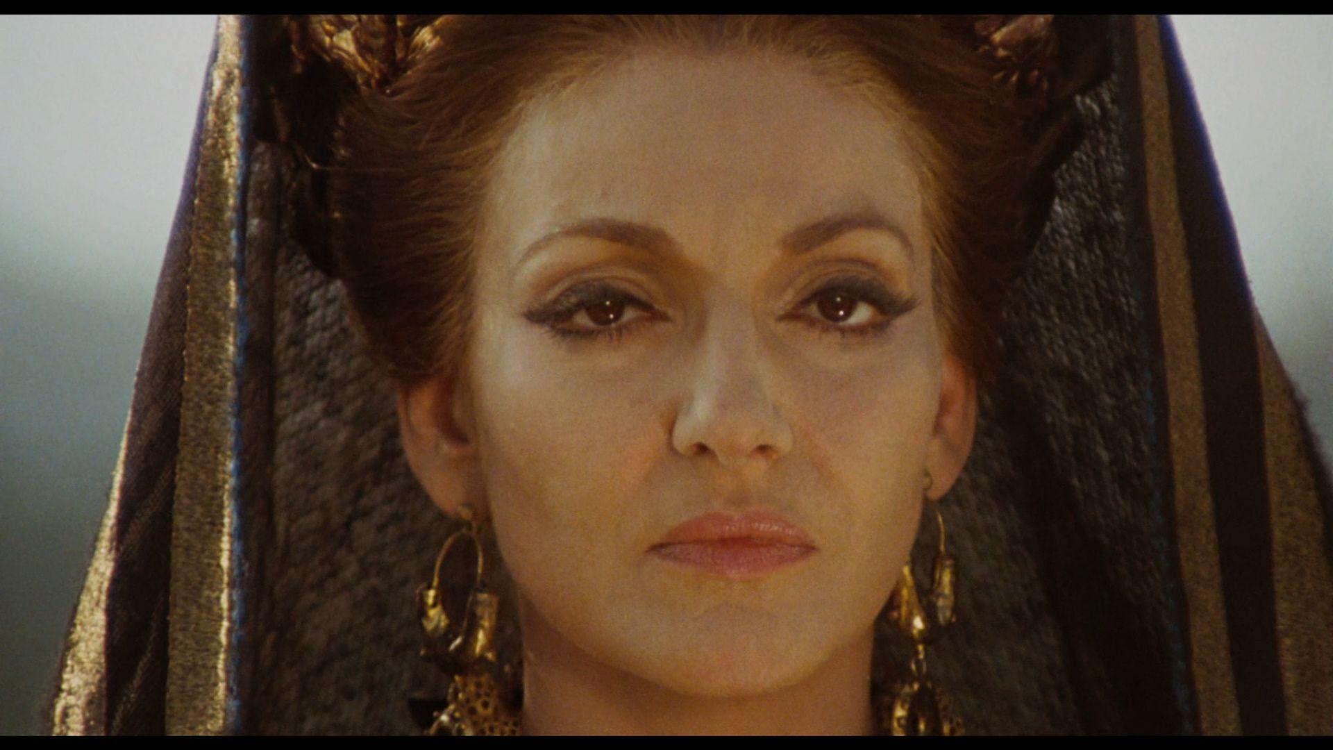 "Maria Callas in ""Medea"" directed byPier Paolo Pasolini"