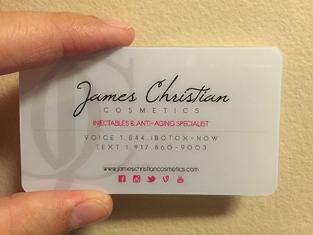 Surgeon clear plastic card business card pinterest business surgeon clear plastic card plastic business cardsbusiness card templatesbusiness flashek Gallery