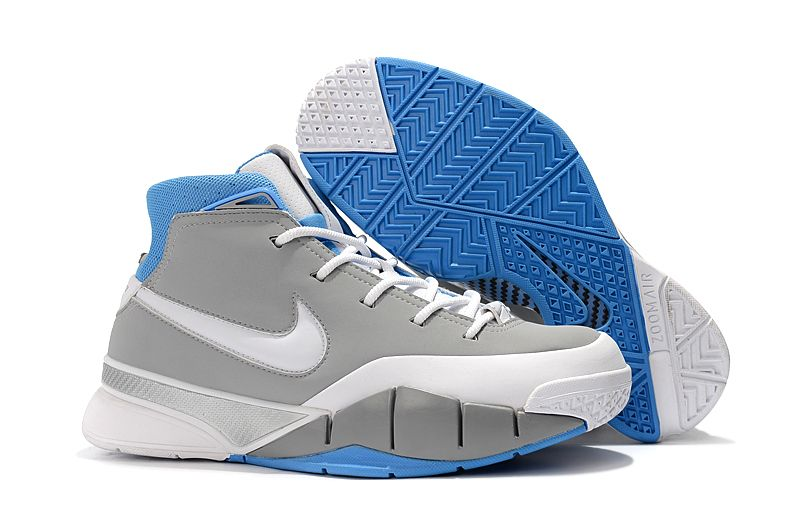 """Nike Zoom Kobe 1 Protro """"MPLS"""" Wolf Grey White-University Blue AQ2728-001 9f1bdd481"""