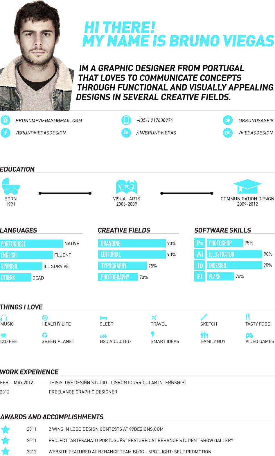 Bruno Viegas Graphic Design Portfolio   portfolio   Pinterest ...