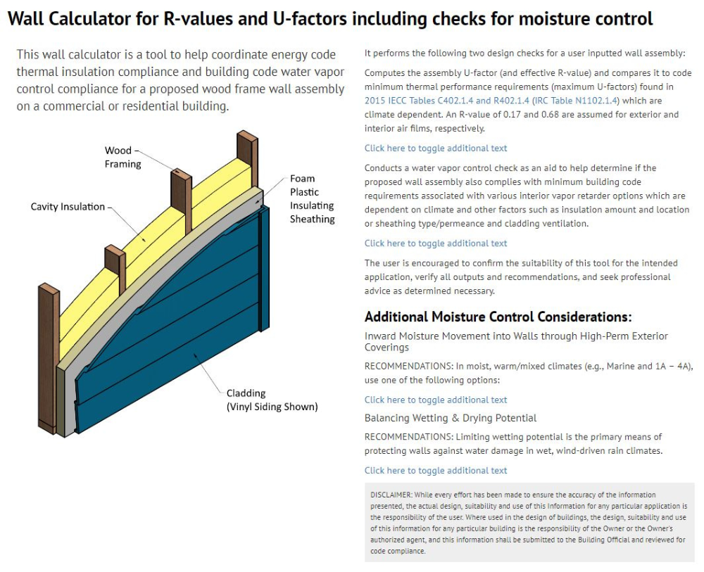 Wood Framed Wall Insulation Calculator Explained Sbc Magazine In 2020 Frames On Wall Wall Insulation R Value