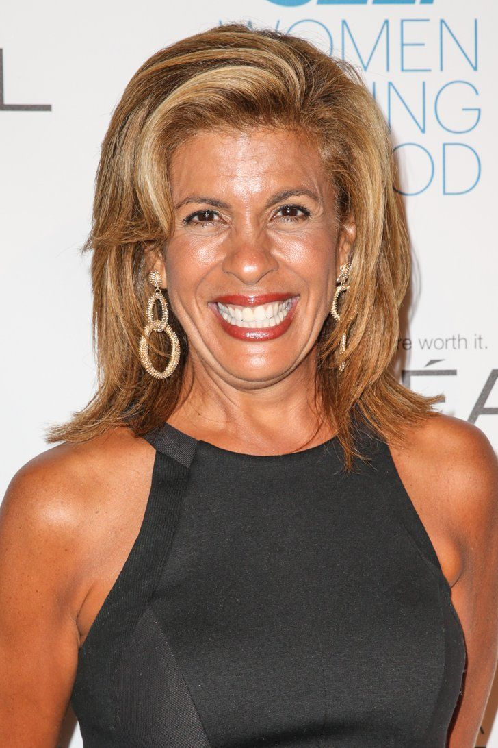 hoda kotb | hair | hoda kotb, hair color, silver hair