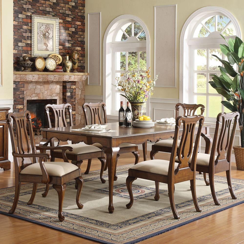 Yorkshire Rectangular Leg Dining Table Chairs