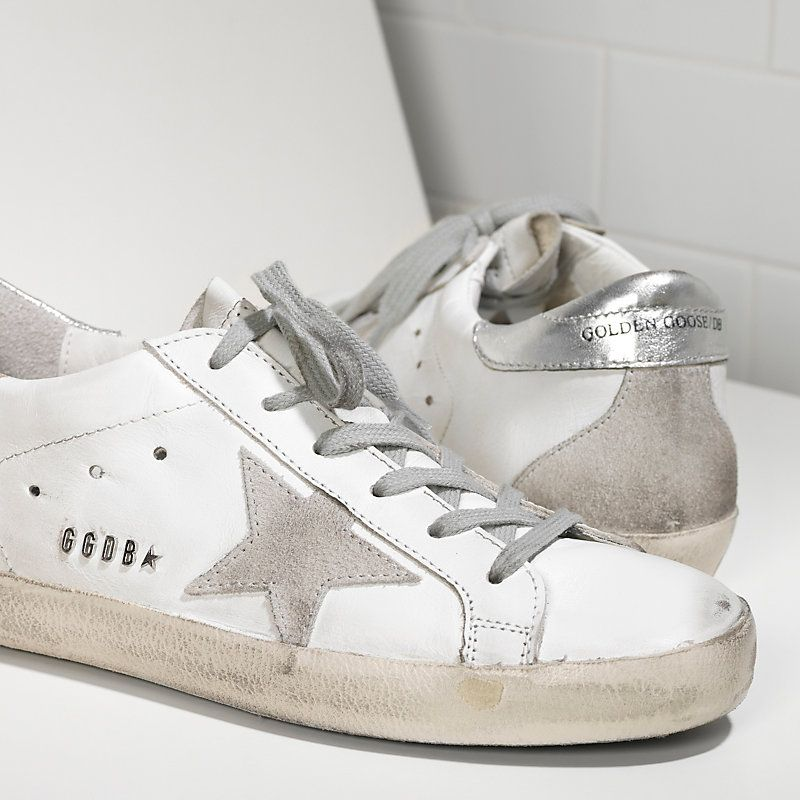 SUPER STAR sneakers in leather with