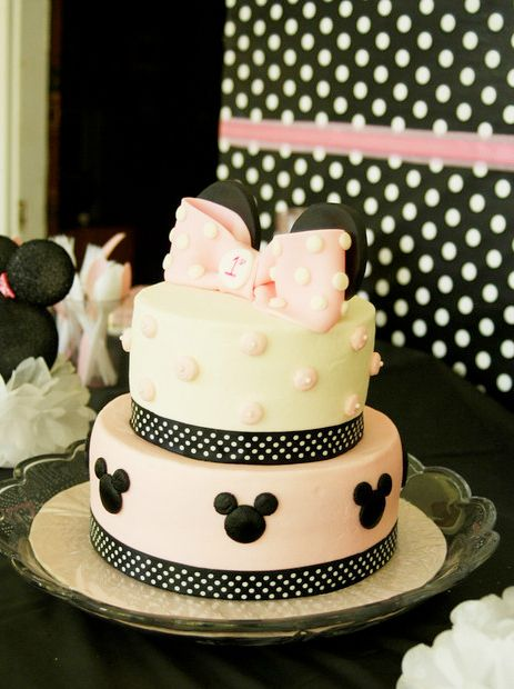 Minnie Mouse Polka dots Birthday Party Ideas Minnie mouse party