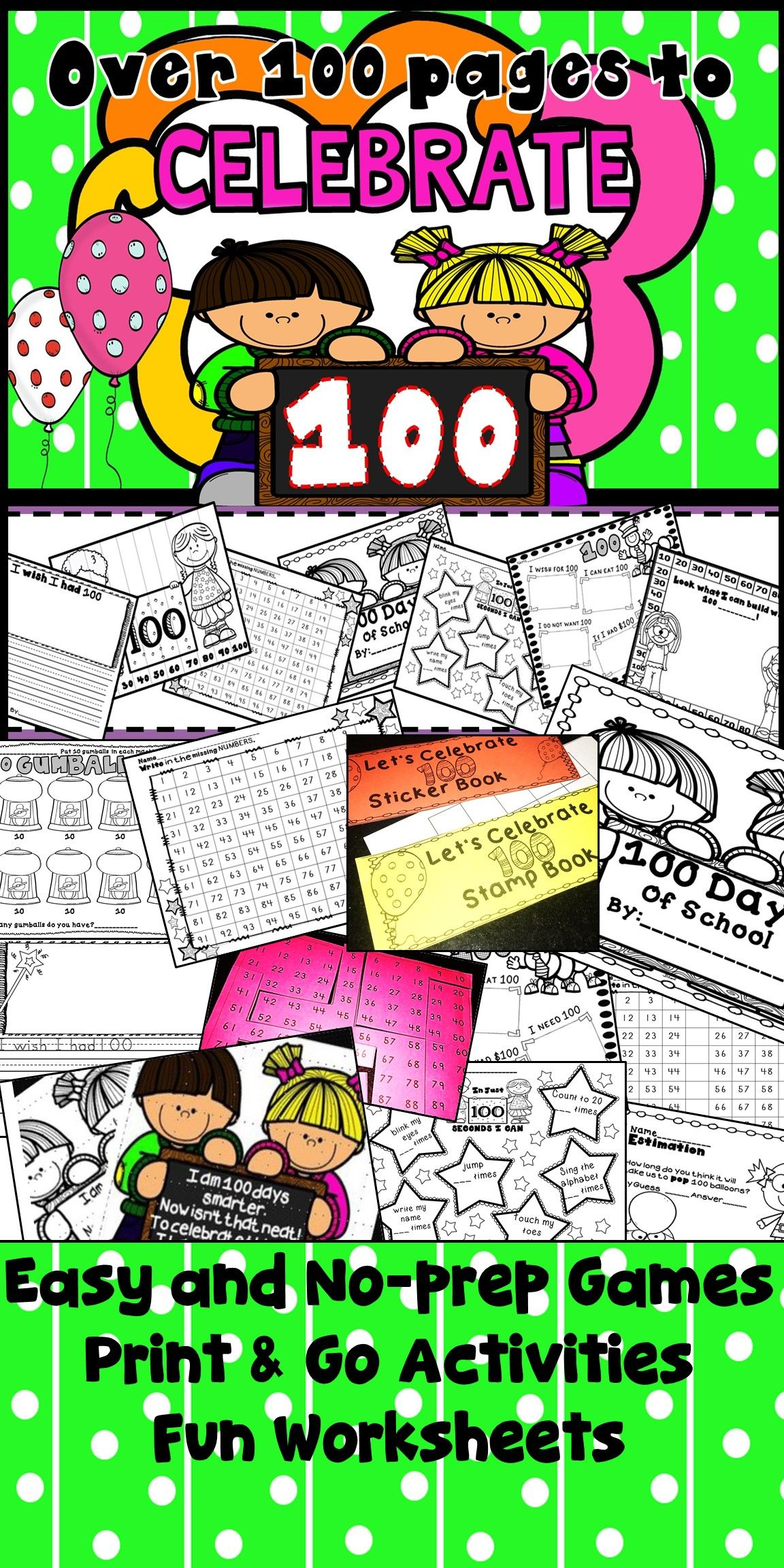 100 Days Of School Activities 100th Day