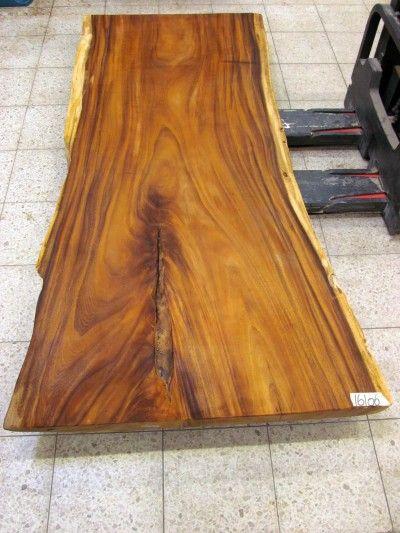 Massivholz Esstisch Suar Baumstamm - UNBEHANDELT - Nr 16106 Tisch