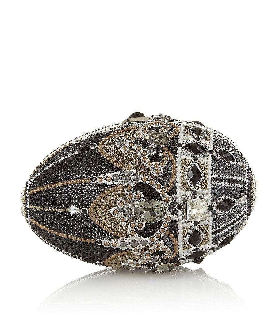 Judith Leiber Crystal Egg Clutch Bag pO2eP41