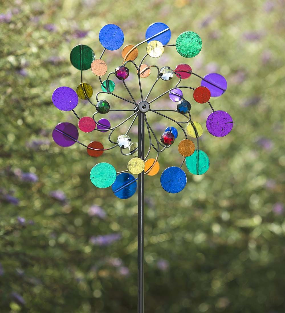 Midi Garden Metal Wind Spinner