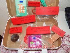 Kreativtheke: 1. Hilfe-Koffer zum 40. Geburtstag für eine Freundin