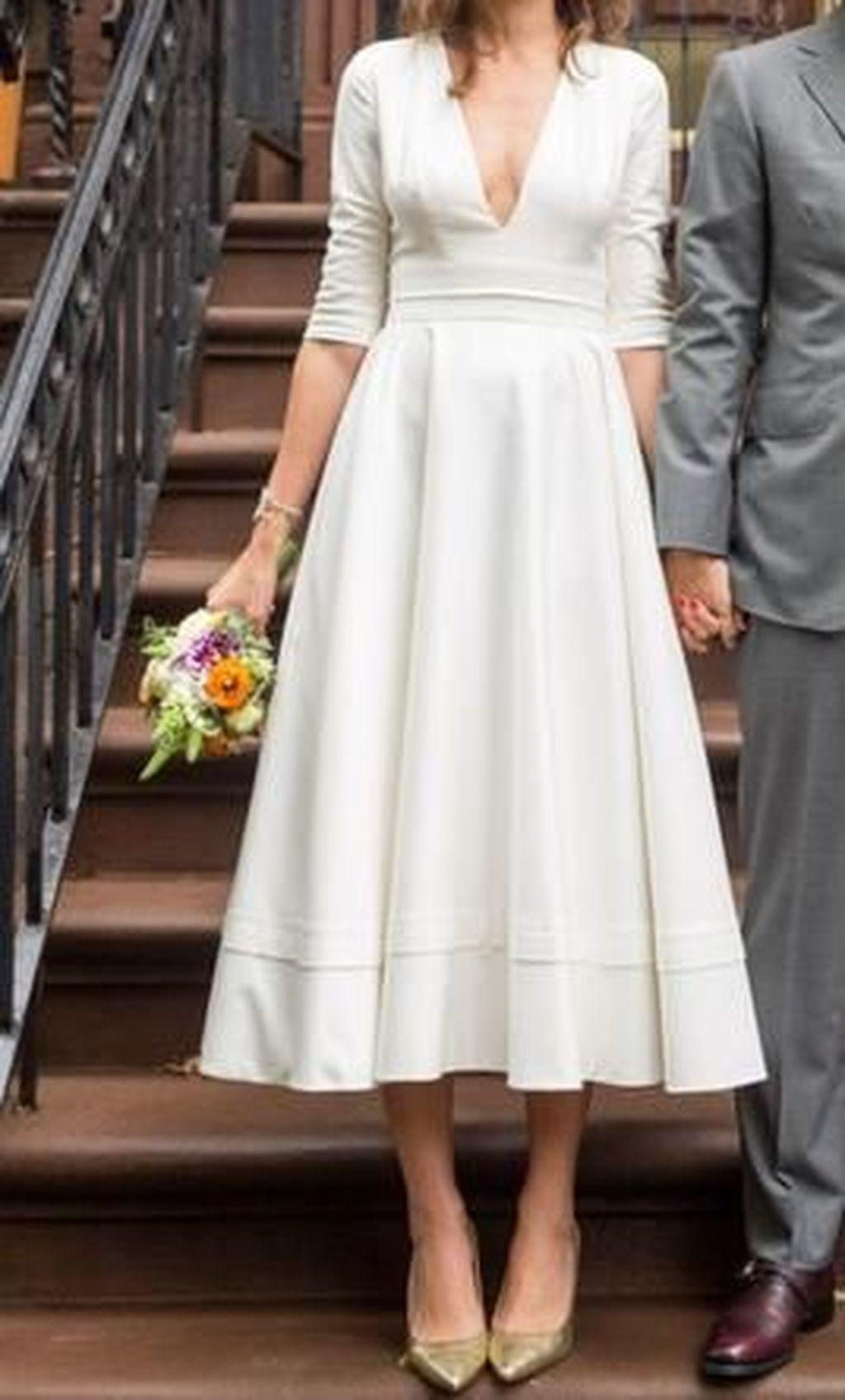 44 Casual Vintage Brautkleider Ideen für den Winter   – Wedding Dress