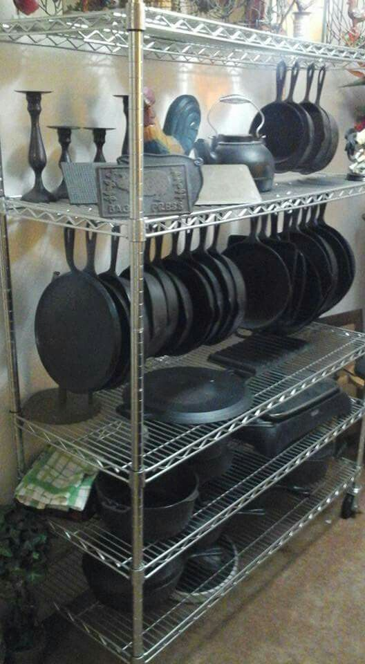Cast Iron Display