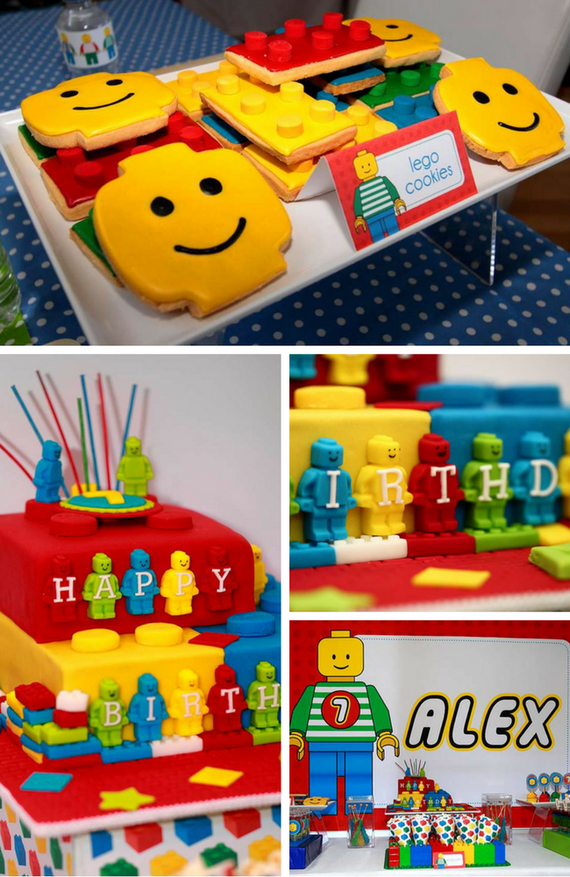Lego Party Lego Baby Shower Party Ideas Baby Shower Lego Theme