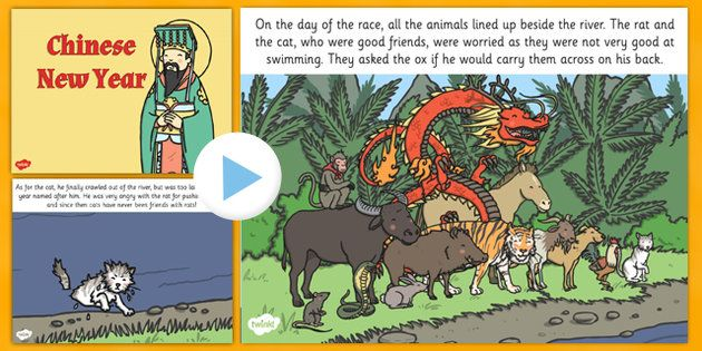 chinese new year story powerpoint - Chinese New Year Story