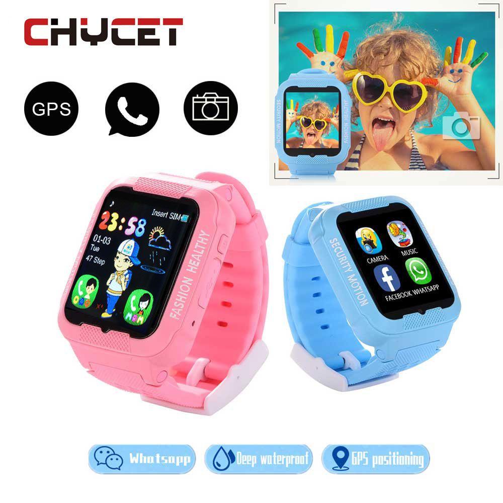 Hot waterproof kids k3 children smart watch gps agps lbs