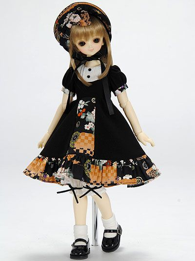 VOLKS USA, INC. | LPP - MSDG/SDMG/SDCG/MDD - Bunka Doll Dress (Black)