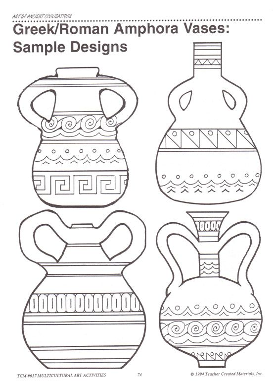 Ancient Greek Vase Shapes Anazhthsh Google Arte Grega