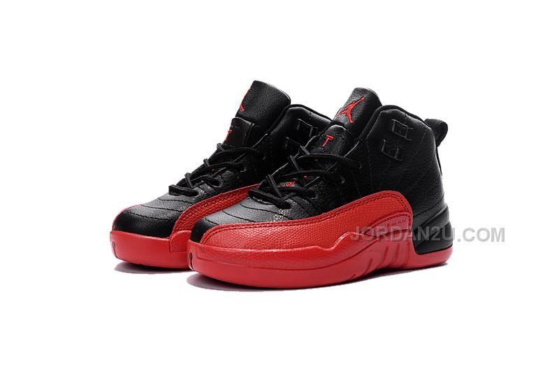 new styles 328b1 e9f8e http   www.jordan2u.com best-price-air-jordan-12-flu-game-black-and-white- kids-sneaker.html BEST PRICE AIR JORDAN 12 FLU GAME BLACK AND WHITE KIDS  SNEAKER ...