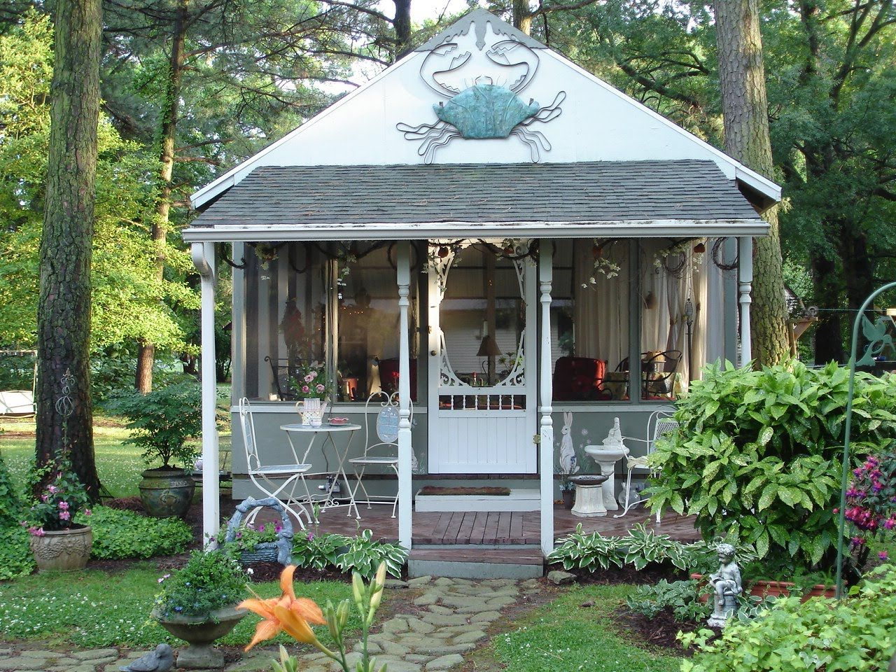 My dream shed   Backyard paradise, Home and garden, Backyard on My Dream Patio id=96162