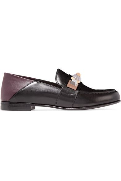Fendi 2017 Metallic Embellished Loafers cheap release dates cheapest price online cheap sale footlocker cheap clearance PHVfW9IU