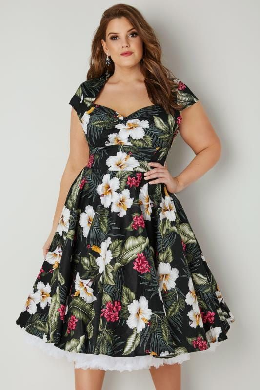 50s Style Romantically Yours Off Shoulder Dress | Beautiful