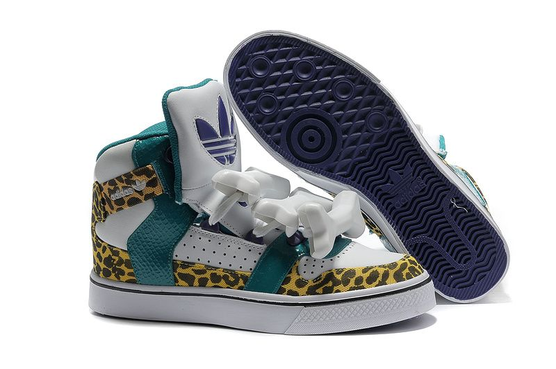 Adidas OBYO JEREMY SCOTT BONES アディダス ObyO ジェレミー?スコット ボーンズ スニーカー レディーズ 白/緑 ADI0363