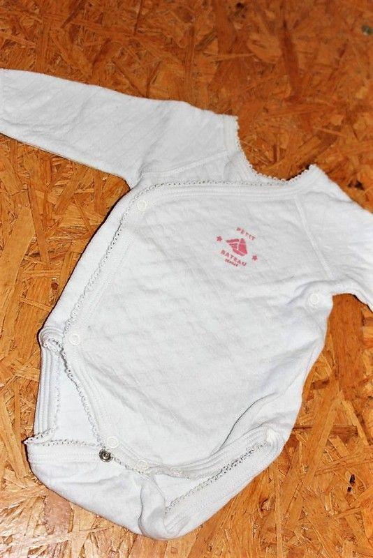 b73b3b812380e Body Petit Bâteau pour bébé fille naissance