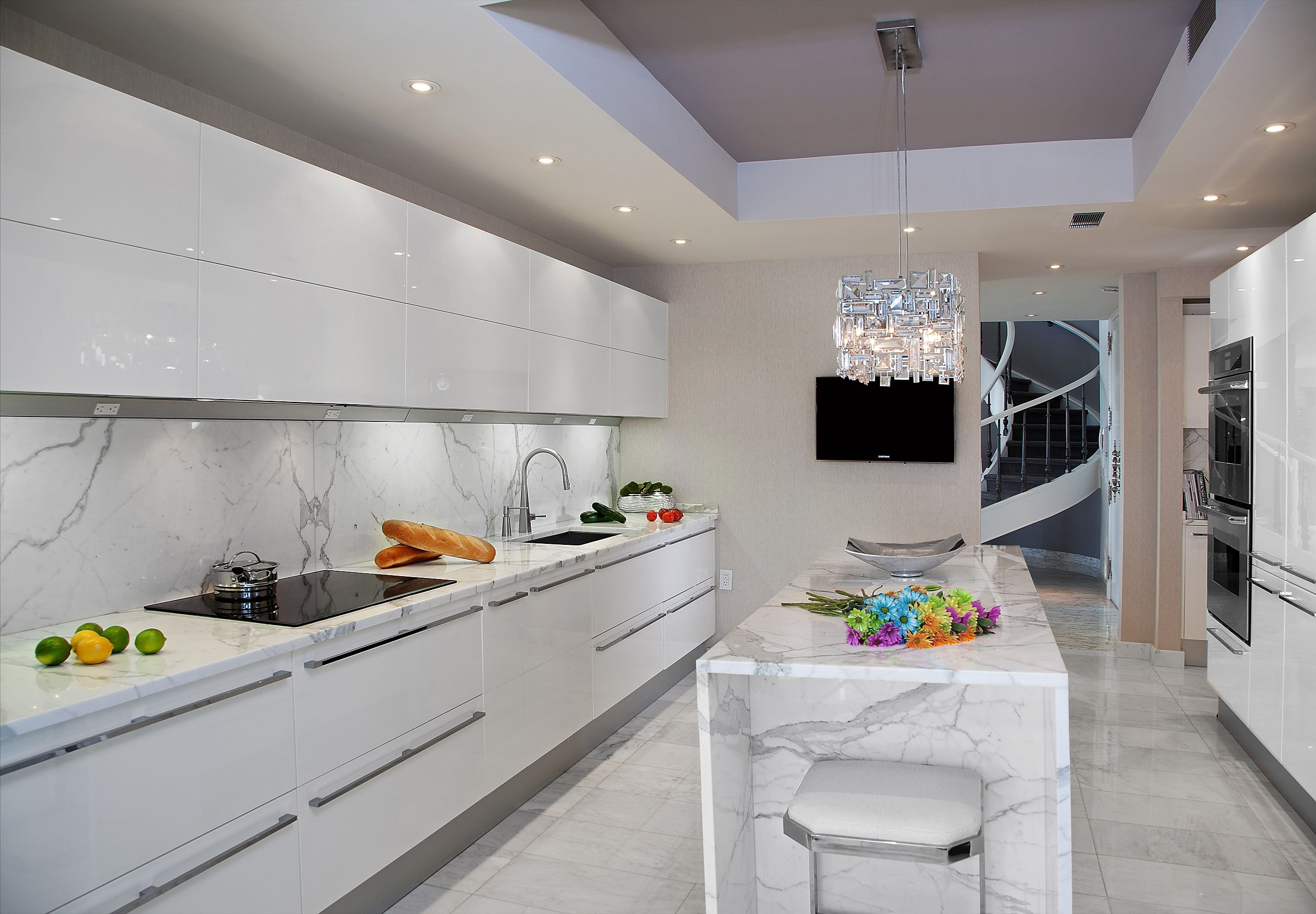 Modern Kitchen Designed By Kuche Cucina From Paramus Nj Pedini